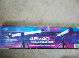 Science Telescope 45mm x 40mm Boxed Unused