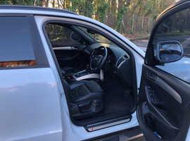Audi Q5, 2011 (61) White Estate, Automatic Diesel, 134,015 miles