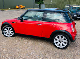 Mini MINI, 2003 (52) Red Hatchback, Manual Petrol, 108,000 miles