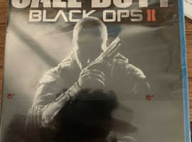 Wii u game call of duty black ops 2