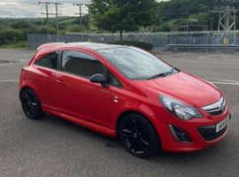 Vauxhall Corsa, 2014 (14) red hatchback, Manual Diesel, 81,000 miles