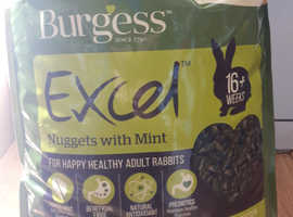 Burgess Excel nuggets for adult rabbits 10kg