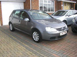 (2007) VW GOLF MATCH 1.6 FSI AUTO MET/GREY 5 DOOR (85000 MILES FSH 11 STAMPS IMMACULATE)