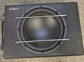 Mutant subwoofer with Amp