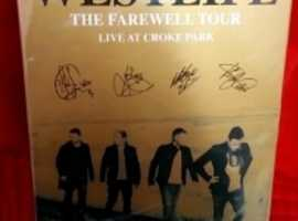 Westlife The Farewell Tour Music DVD