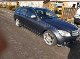 Mercedes C CLASS, 2008 (08) Grey Estate, Automatic Diesel, 115,221 miles
