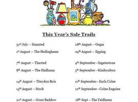 This Year's Sale Trails