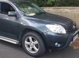 Toyota Rav4, 2007 (07), Manual Diesel, 196,000 miles