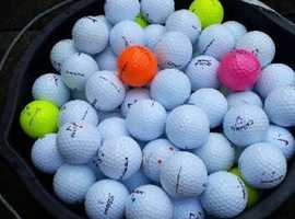 All sorts of excellent golf balls.