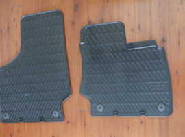 Rubber mats for Audi tt