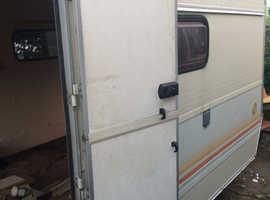 caravan door