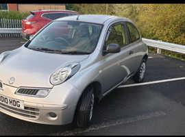 Nissan Micra, 2010 (10) Silver Hatchback, Manual Petrol, 68,000 miles