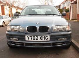 BMW 330i SE 2001 2 OWNERS FULL SERVICE HISTORY 24th JANUARY 2020 MOT 136K