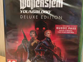 New Xbox One Wolfenstein Youngblood Deluxe Edition