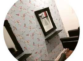 Room to rent within busy salon