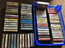 A treasure trove of cassette tapes