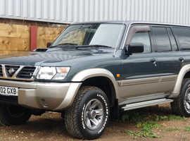 2002 [02] Nissan Patrol 3.0 Turbo Diesel Gr Se 84K Miles With FSH, 12 Months Mot