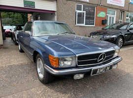 Mercedes 450 SLC AUTO, 1974 (M) Blue Coupe, Manual Petrol, 124,000 miles