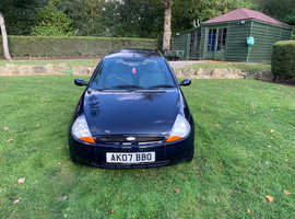 Ford Ka, 2007 (07) Blue Hatchback, Manual Petrol, 60,000 miles