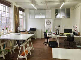Share studio space in Bethnal Green