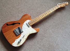 Thinline Telecaster type electric guitar