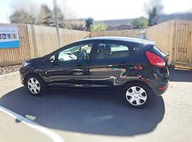 Ford Fiesta, 2011 (11) Black Hatchback, Manual Diesel, 74,000 miles