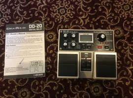 Boss DD20 Digital Giga delay dual pedal