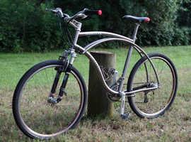 MERLIN NEWSBOY TITANIUM MOUNTAIN CRUISER BICYCLE