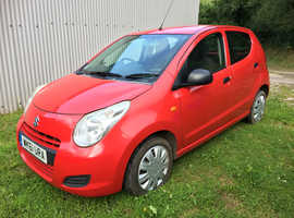 Suzuki Alto, 2011 (61) Red Hatchback, Manual Petrol, 60,000 miles
