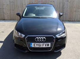 Audi A1, 2012 (61) Black Hatchback, Manual Diesel, 57,000 miles