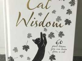 Brand new Cat Wisdom by Neil Somerville - Hardcopy book