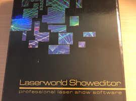 Laserworld showeditor and shownet interface
