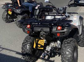 2020 Tgb blade 520 grey road legal quad
