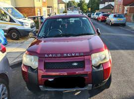 Land Rover Freelander, 2004 (04) Red Estate, Automatic Diesel, 89,684 miles