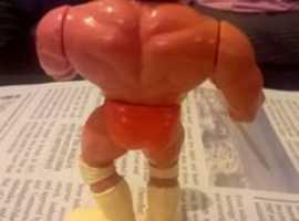 vintage wrestling figure's