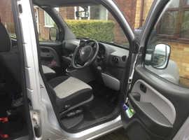 Fiat Doblo, 2009 (59) Silver MPV, Manual Petrol, 32,496 miles