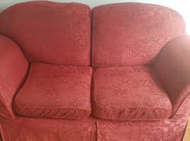 2x 2 seater sofas