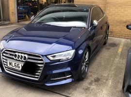 Audi A3, 2016 (66) Blue Saloon, Semi auto Petrol, 4,000 miles