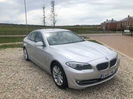 BMW 5 Series, 2010 (60) Silver Saloon, Manual Diesel, 87,913 miles