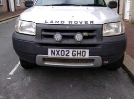 Land Rover Freelander, 2002 (02) Silver Estate, Manual Petrol, 120,098 miles