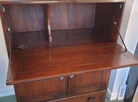 Ercol furniture drinks cabinet