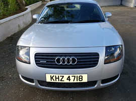 Audi TT, 2001 (Y) Silver Coupe, Manual Petrol, 89,000 miles