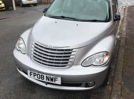 Chrysler Pt Cruiser,CRD Ltd edition 2008 (08) Silver Hatchback, Manual Diesel, 132,000 miles