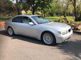 BMW 7 Series, 2005 (05) Silver Saloon, Automatic Petrol, 135000 mls