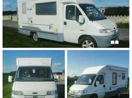 2000 Peugeot Boxer Autocruise Vision 20/20, 270TD, compact 3 Berth (19ft long).