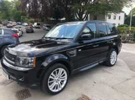 Land Rover Range Rover Sport, 2009 (59), Automatic Diesel, 109,388 miles