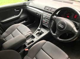 Audi A4, 2004 (04) Grey Estate, Manual Petrol, 98,000 miles