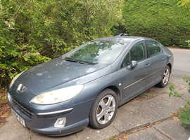 Peugeot 407, 2004 (04) Grey Saloon, Manual Petrol, 92,000 miles