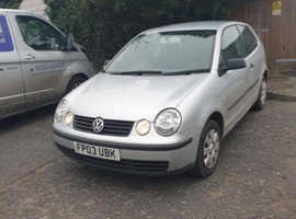 Volkswagen Polo, 2003 (03) Silver Hatchback, Manual Diesel, 1,060 miles