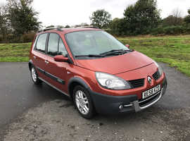 Renault Megane, 2008 (58) Orange MPV, Manual Petrol, 89,000 miles